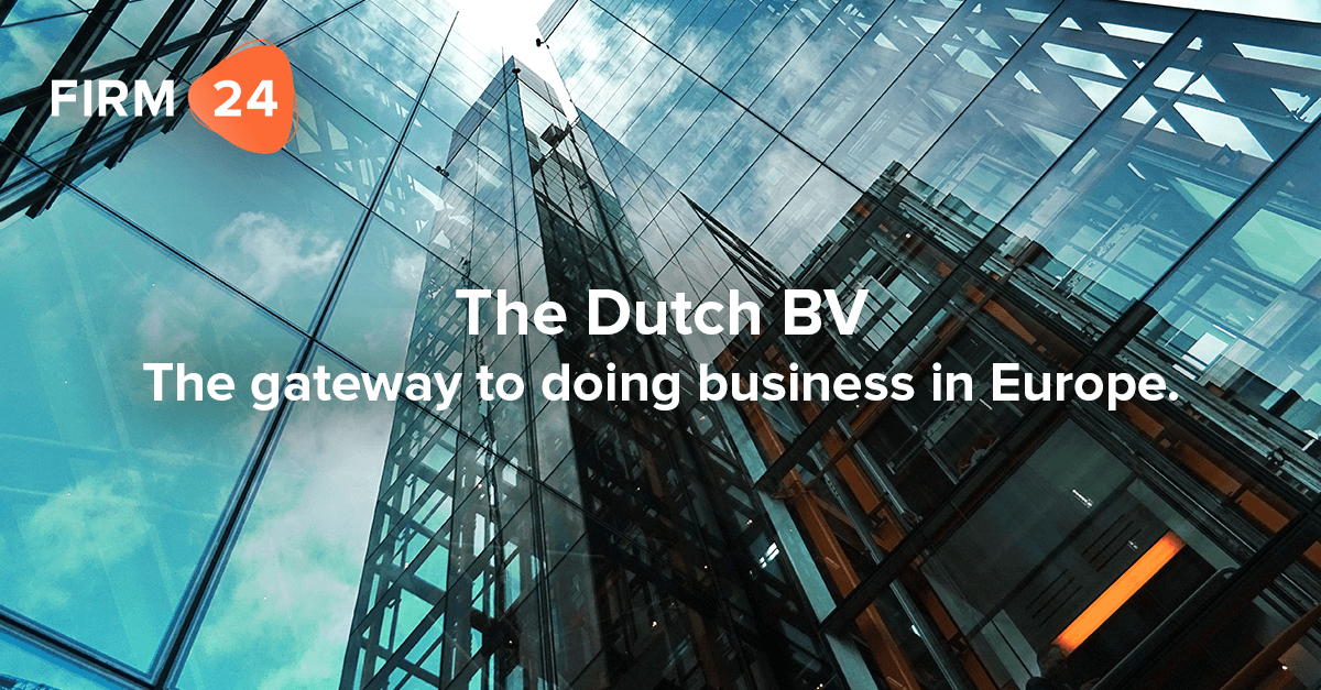 Dutch BV gateway for doing business