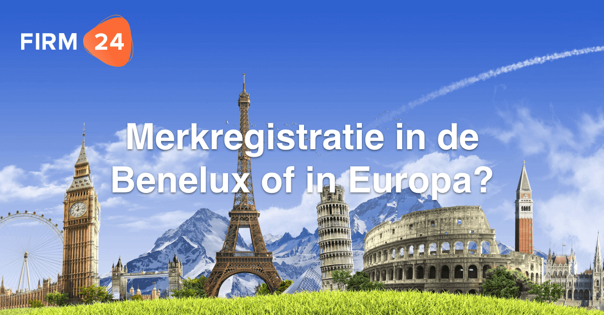 Merknaam in Europa of Benelux?