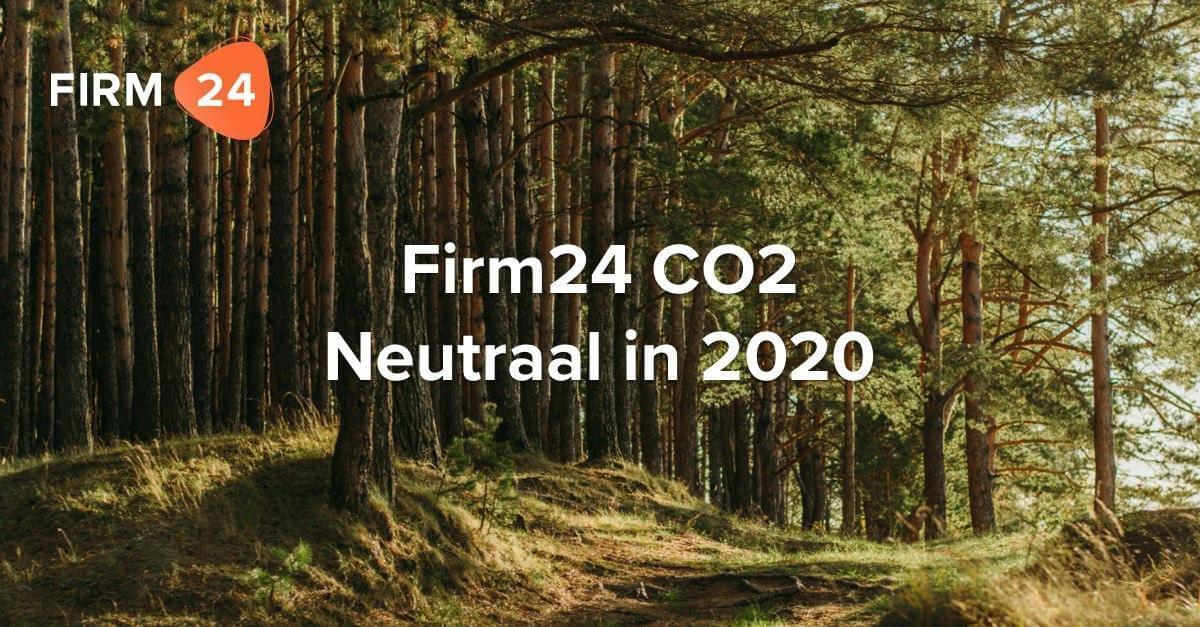 Firm24 CO2 neutraal?