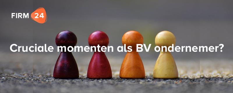 De 6 fasen van een BV ondernemer