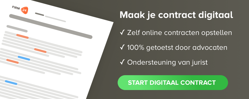 online contract opstellen