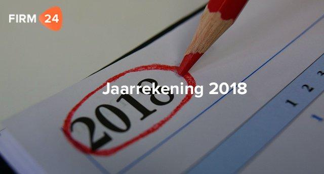 Opstellen jaarrekening in 2018