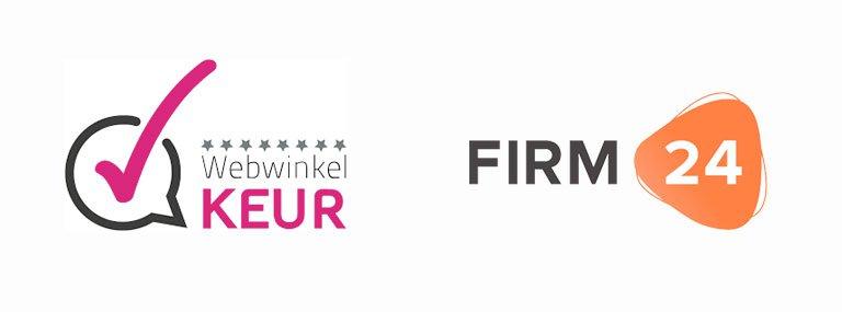 Partnership WebwinkelKeur en FIRM24