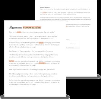 contract overeenkomst voorbeeld